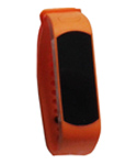 Fitness watch orange